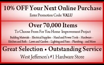 Hardware Store West Jefferson, OH - West Jefferson Hardware