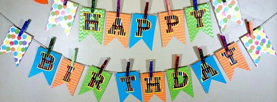 Birthday Garlands