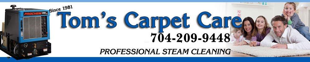 Carpet Cleaner - Salisbury, NC - Toms Carpet Care