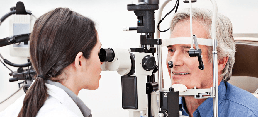Vision examination