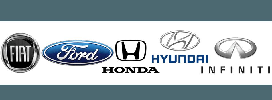Dodge,  Fiat , Ford,  Honda