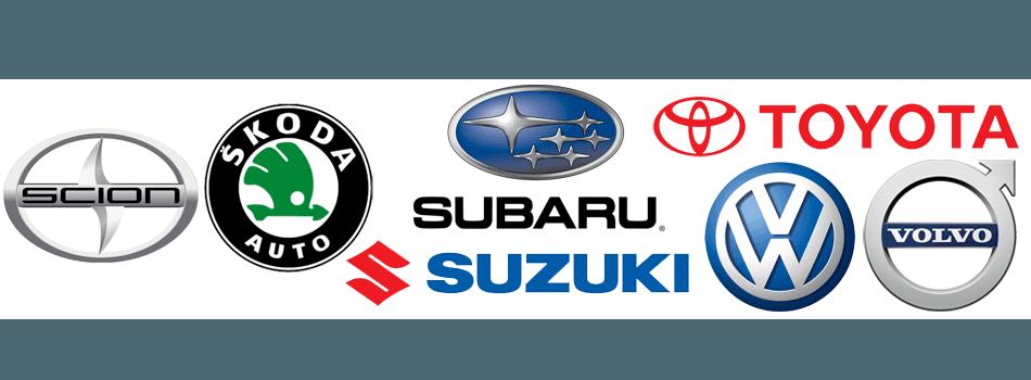 Scion  Skoda Auto  Subaru  Suzuki Toyota  Volkswagen  Volvo