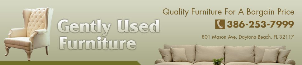 Resale Furniture - Daytona Beach, FL Gently Used Furniture