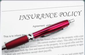 pen on insurance paper