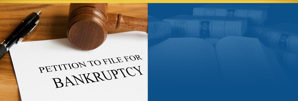 Bankruptcy petition paper