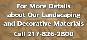 Landscape gravel - Clark & Crawford Counties - Lawrence Grave, Inc. - gravel on landscaping - For More Details about Our Landscaping and Decorative Materials Call 217-826-2800