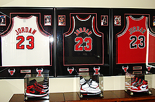 Sports Memorabilia | 573-635-7056 | Jefferson City, MO | The Frame Shop