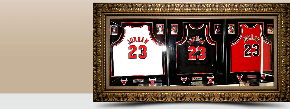 Sports Memorabilia | Jefferson City, MO | The Frame Shop | 573-635-7056