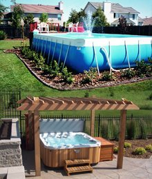 pool installation - Woodbury, MN - Valley Pools & Spas - pool and spa service