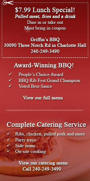 Charlotte Hall, MD - Catering - Griffin's BBQ