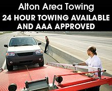Towing  - Riverbend, IL - Alton Area Towing