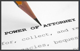 Power of attorney paper