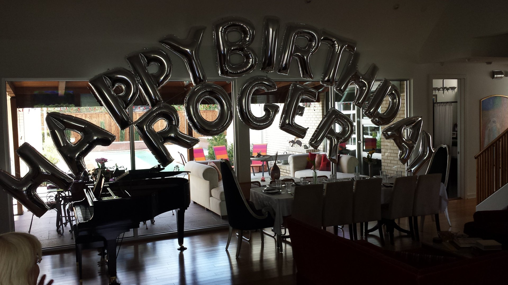 Roger's Birthday Party