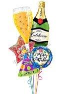 Bubbly Birthday Balloon Bouguet
