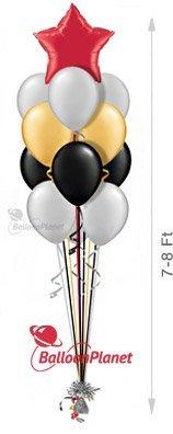 12 plain balloons