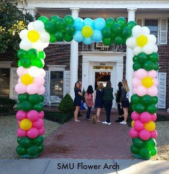 SMU Flower Arch
