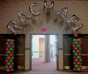 Racheal's  Entrance