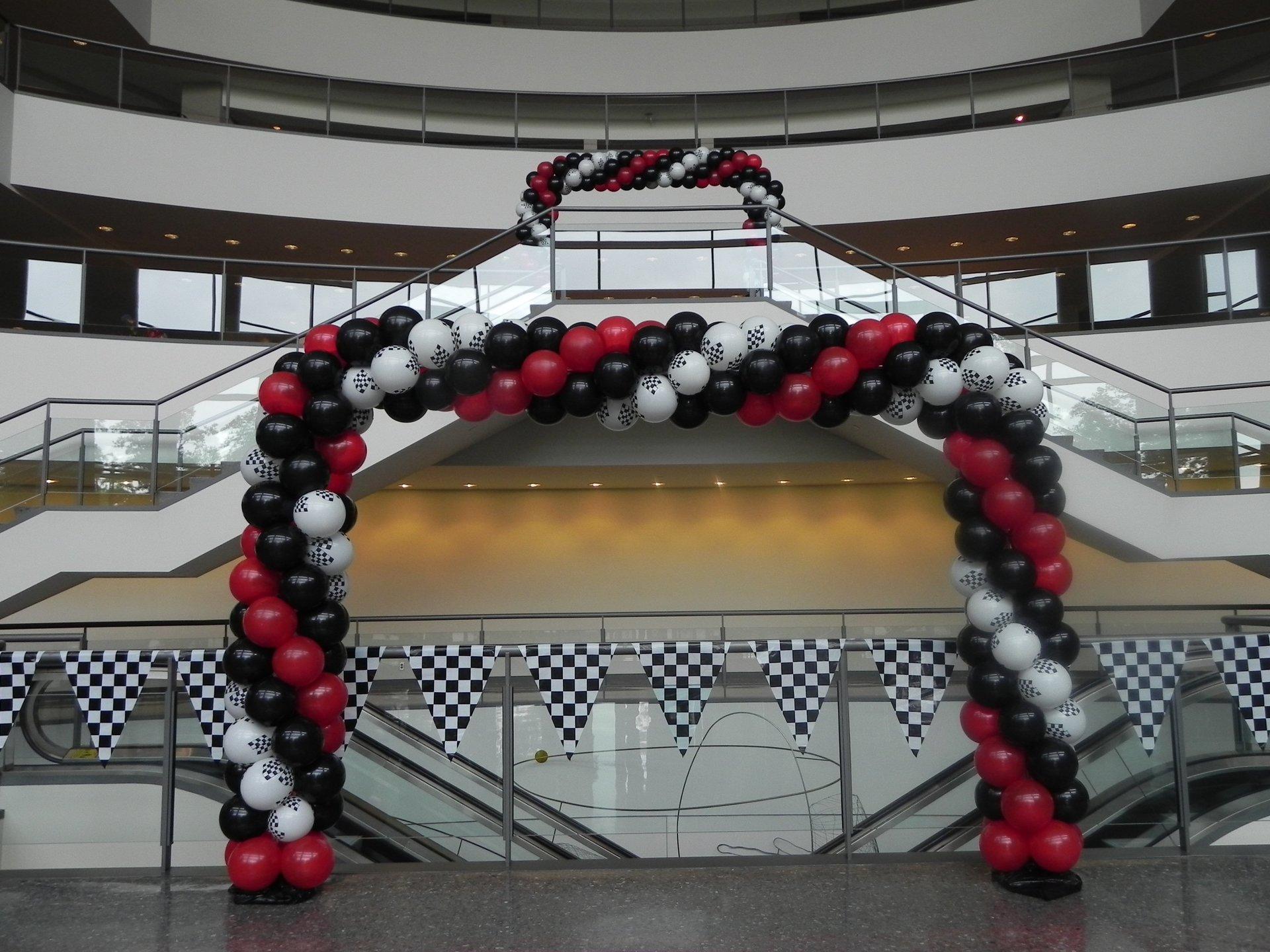 Racing Theme Arch