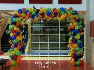 Crazy Hair Arch