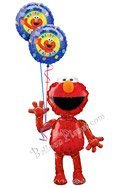 Elmo Birthday Airwalker