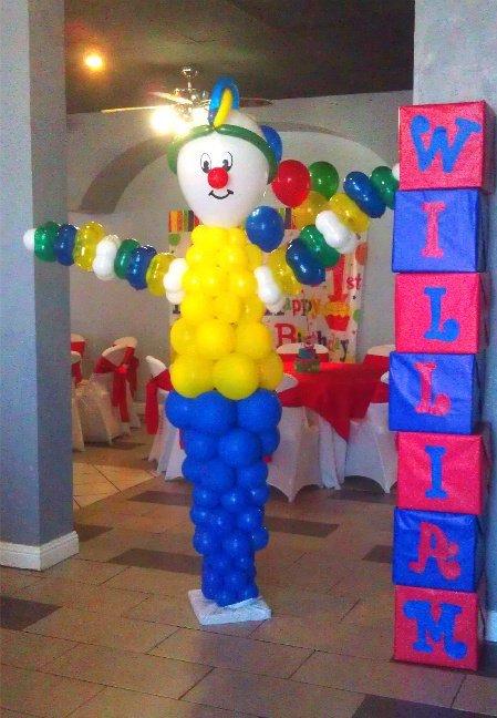 William's Clown Party