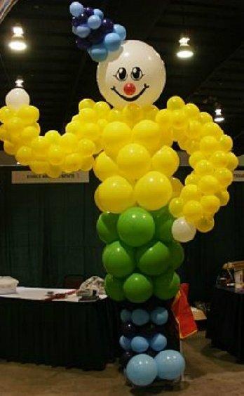 10 foot Balloon Clown