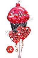 ValentineDay Jr. Sweet Cupcake