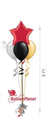 3 plain balloons