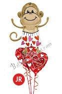 Valentine's Day Jr Love Monkey
