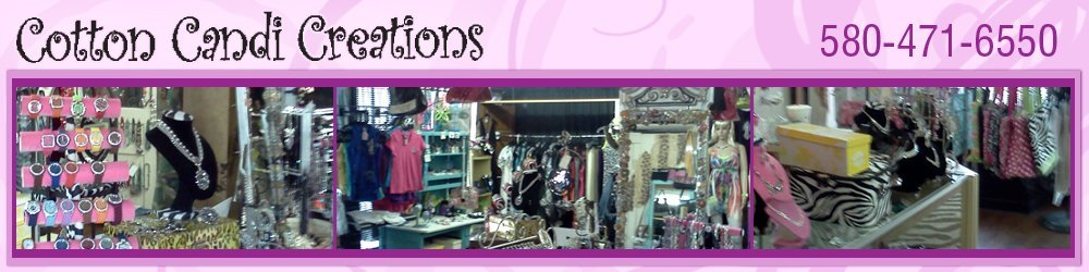 Women's Wear and Accessories - Altus, OK - Cotton Candi Creations