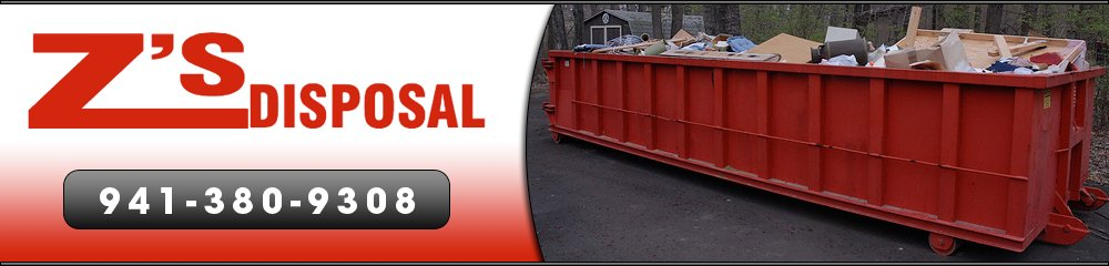Dumpster | Disposal Container - Port Charlotte, FL - Z's Disposal