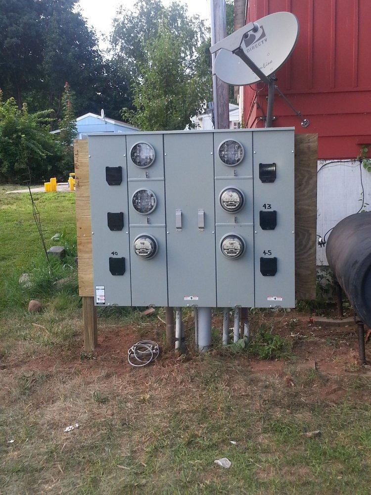 After multi meter service