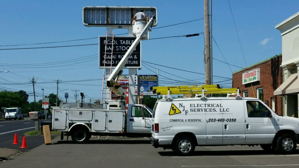 Electrical Work Van