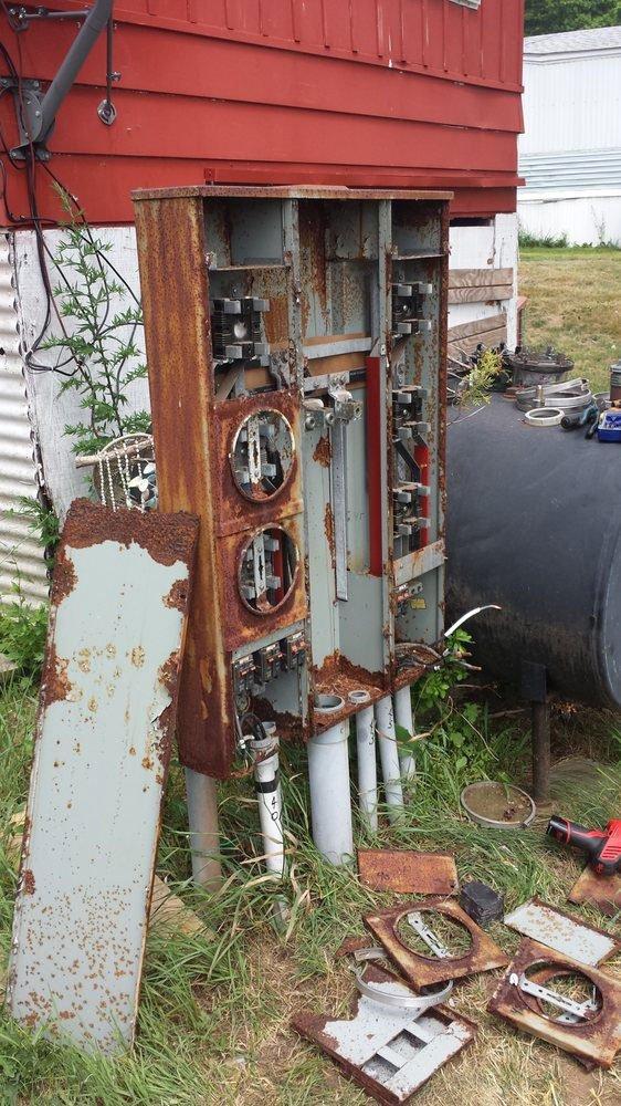 Before multi meter replacement