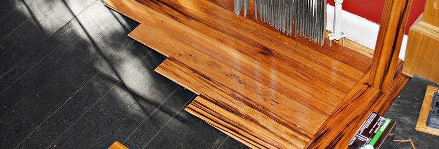 Hardwood Floor Installation Work