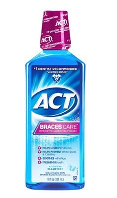 ACT Braces Care  Mouth Rinse