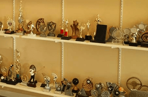 In store trophies