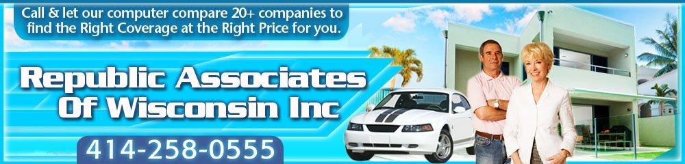 Insurance Provider - Milwaukee, WI - Republic Associates of Wisconsin, Inc.