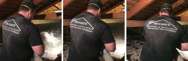 residential insulation | Oklahoma City, OK | Moore's Roofing & Insulation | 405-495-1777