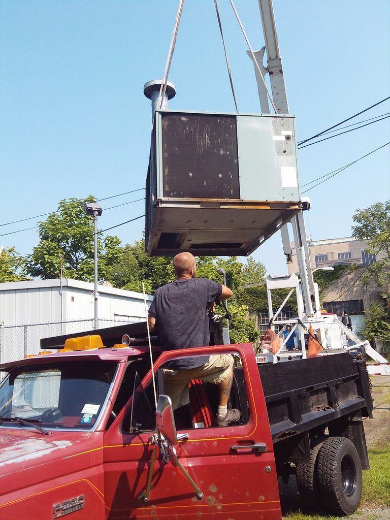 Installing Aircondition