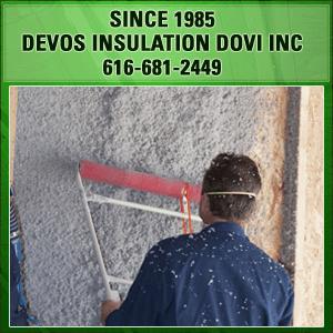 Home Insulation - Grand Rapids, MI - DeVos Insulation Dovi Inc - Insulation equipment - Since 1985 DeVos Insulation Dovi Inc 616-681-2449