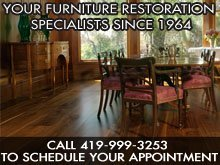Residential Furniture Repairs - Lima, OH - Rahrig's Furniture Restoration
