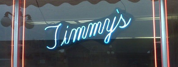 Timmy's neon sign