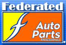 Big A Autoworks Federated Auto Parts Logo