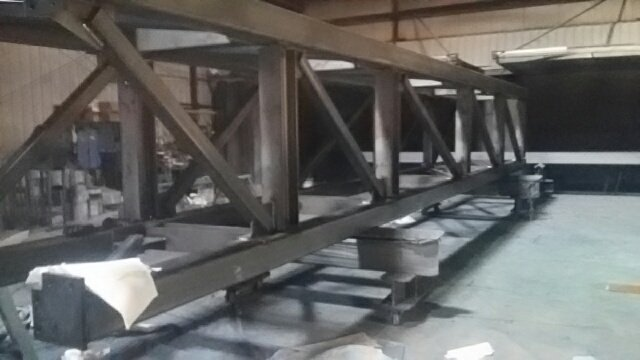 Fabricated tower framing