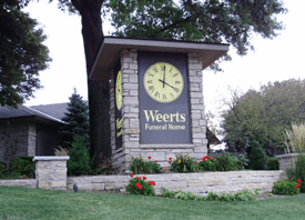 Weerts Sign