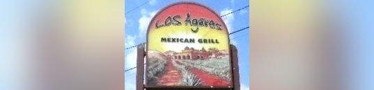 Los Agaves Sign