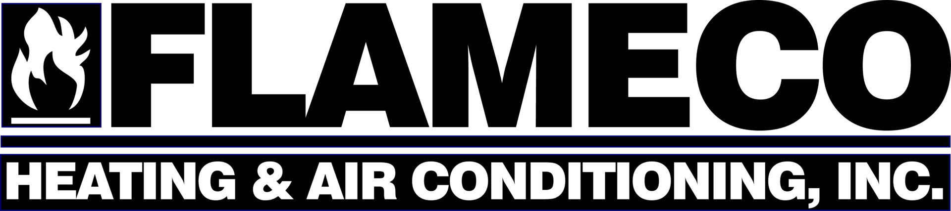 FlameCo Heating & Air Conditioning Inc. - Logo