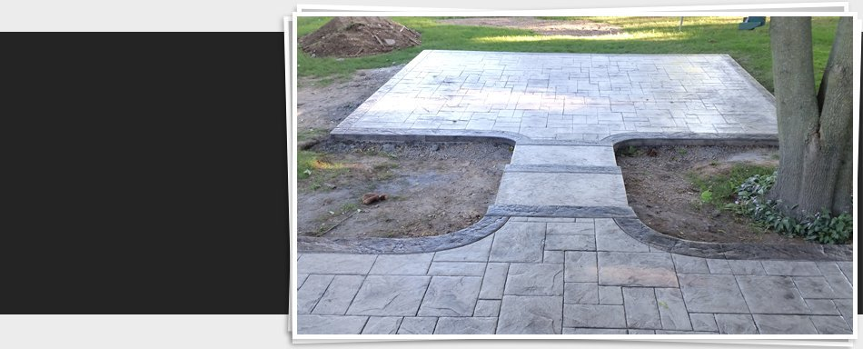 Stamped Concrete | Franklin, WI | Southeast Construction LLC | 414-427-9709