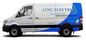 Linc Electric van